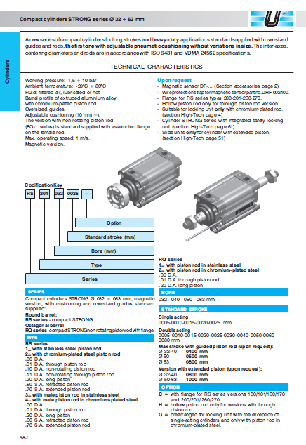 UNIVER cylinders-rq